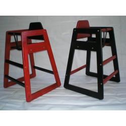 Chaise Eurobambino DUO, couleur blanche/noire (Lot de 2 chaises)