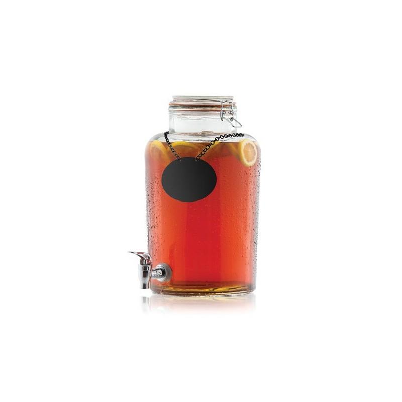 Fontaine à boisson 9,5L avec robinet COLLECTION « RUSTIC COUNTRY »