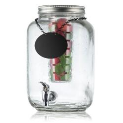 Fontaine à boisson 7,5L avec robinet COLLECTION « MASON JAR »