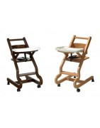 KODIF - Chaise haute enfant avec plateau